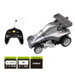 Мини радио преобразования управления роботом RC Car коляске дешевые пластиковые робота преобразования Car мини-Kid Toy Car Преобразование мини RC робота трюк автомобиль со светодиодной подсветкой