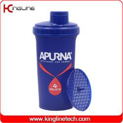 2020 novo design 700ml de água plástica proteína garrafa shaker (KL-7013D)