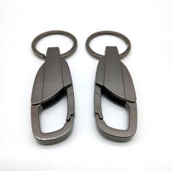 Entwurfs-kühles personifiziertes manuelles Metaleinlegearbeit Keychain Auto-Schlüsselketten-Schlüsselring-Geburtstag-Luxuxgeschenk für Mann-Frauen