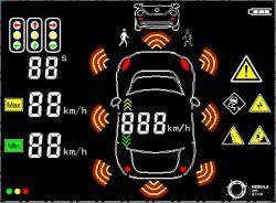 """TFT LCD für Auto-neuen 7 """" 800*480 Bildschirm"""