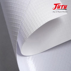Jutu PVC Flex Frontlit Banner Outdoor Digital Printing Banner Advertising 材料( Material )
