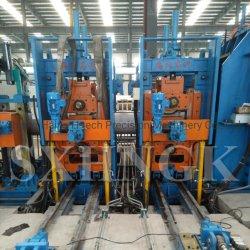 Norma API Costura reta em aço inoxidável de alta frequência da linha de produção de tubos soldados
