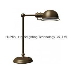 Antike Bronzelampe des tisch-Jlh-421 mit eingebauter Schalthebel-Ein/Aus-Schalter für Hotelzimmer-Kopfende Nightstand Licht