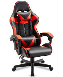 Mobilier de bureau Gamer jeu inclinables Swing ordinateur ergonomique en cuir de massage basculante 4D Chaire de jeu de course