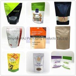 13 anos de experiência em comida laminado chineses café snack-embalagem stand up pouch com fecho Ziplock Resseláveis Saco de embalagens plásticas de Fornecedor