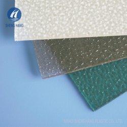 Goutte de pluie en polycarbonate Pattern PC Feuille gaufré