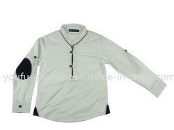 Crianças roupas do Menino de algodão camisola Cabrito Casual Desgaste da moda estilo britânico de Manga Longa para vestuário de crianças