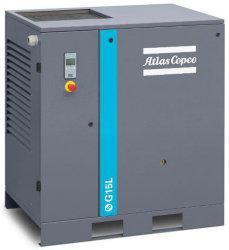 アトラスコプコオイル潤滑式オイル注入ロータリツインスクリューエア コンプレッサ永久磁石 VSD コンプレッサ、エネルギーを使用した業界向け エアコンプレッサを保存します