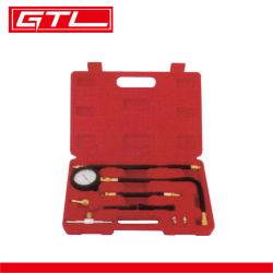Tester di compressione dell'apparecchiatura per depistage del calibro del tester di pressione dell'olio per motori del manometro del tester del manometro di iniezione di carburante del veicolo