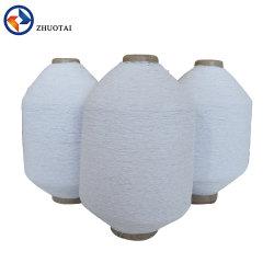 1007575 het hoge Elastische Garen van de Polyester van de Draad van het Latex RubberDubbel Behandelde voor Sokken