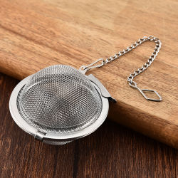 Sfere per filtro tè in acciaio inox personalizzate / infusore