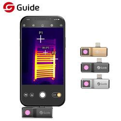 安価な小型ポケット Mobir Air の無冷却赤外線サーマルイメージング IR スマートフォン用カメラ温度検出カメラ