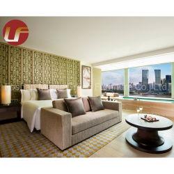 Mobilier de style ancien de l'or de luxe 5 étoiles hôtel Chambre Double Chambre à coucher Mobilier