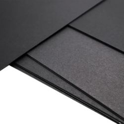 documento di lusso del nero della casella della busta dell'album del cartone per scatole di stampa 230GSM