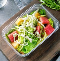 Одноразовые упаковки продуктов питания обед контейнер коробка для хранения пакета
