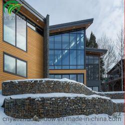 Portelli di alluminio della finestra di Silding di fabbricazione della finestra di alluminio della Cina per la Camera