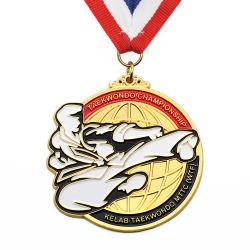 Оптовая торговля дешевые Custom 3D-металлических судов свой собственный Чистый цинк сплавов золота металлические марафон работает сувенирный Award спорта медаль за подарок для продвижения