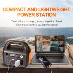 Portable 600W Estação de Energia Bateria exterior & Camping ou aparelhos de piquenique bateria backup/ 220V AC / Carregador de Alimentação por energia solar / Cozer arroz