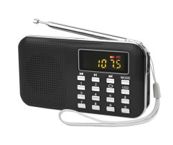 Мини-портативный радиоприемник L-218 с низких частот