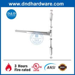 ANSI UL-gecertificeerde deur-hardware-paniek, roestvrij staal, brandwerende klasse Vergrendeling Uitgangsapparaat verticale stang Touch Bar High Security Commercial Drukstang voor de deur van de branduitgang