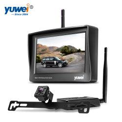 """2.4G Camera van de Auto van Herz de Draadloze Kleine met Zender en """" Monitor Handige 4.3"""