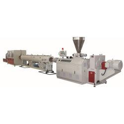 La Chine en PVC en plastique HDPE UPVC CPVC PE PP PPR de fourniture de gaz de l'eau de drainage des eaux usées conduit de distribution électrique Durit du tuyau de la production d'Extrusion de tube Making Machine