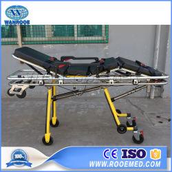Ea-3b1 дешевые аварийной транспортировки пациента портативный складной алюминиевый корпус машины скорой помощи носилки