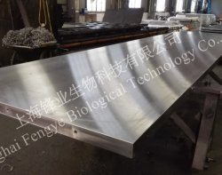 Placa de aquecimento e placa de arrefecimento para prensa de madeira