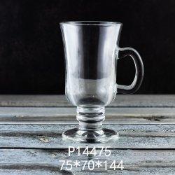 2020の新しい項目250ml水晶白く物質的な飲むマグのビールのジョッキのガラス製品のコーヒー・マグ(P14475)