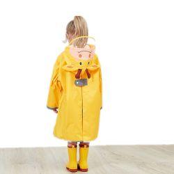 مزح [رينسويت] بلاستيكيّة مطر ترك أطفال ممطر [رينور] مطر دثار