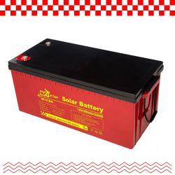 Csbattery 12V 200ah/250ah/300ah 스토리지 납산 AGM 배터리(자동차/오토바이/EPS/보트/동력 도구/팩/CSE용