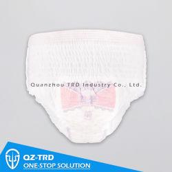 Private Label Einweg Menstrual Höschen Frauen Mutterschaft Hosen Erwachsene Pull Polder mit Wickelwindel nach oben