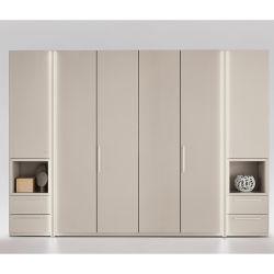 Las modernas Furnture 20da603 Dormitorio armario asa metálica con la luz