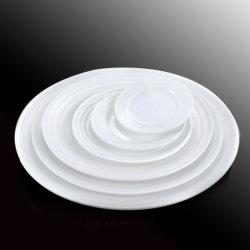 Novo Estilo de placas planas jantar grossista, pratos de cerâmica