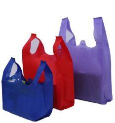 De grado alimentario de impresión personalizada Bolsa de compras de plástico de la publicidad de supermercados