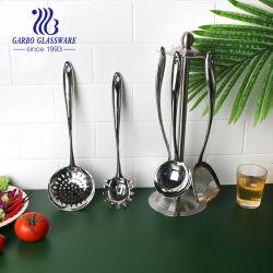 Venda por grosso de lavar loiça espátula de cozinha de aço inoxidável Turner (KWSS015-4)