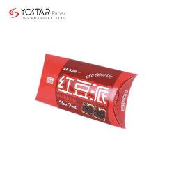 Livro Branco biodegradáveis o papelão embalagens de alimentos Tacos de takeaway Carton com impressão de logotipo