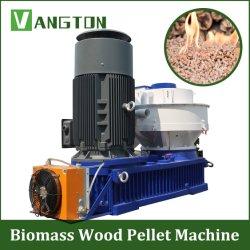 Le bois de la biomasse de l'Agriculture l'anneau de carburant à plat Die presse à granulés Appuyez sur la machine pour la paille de blé de sciure de bois de riz de Noix de Coco Husk coquilles d'arachides Graines de tournesol feuille de palmier la bagasse