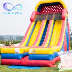 Arco iris de diapositivas de rebote de inflables inflables Jumping Bouncer Diapositiva Diapositiva inflable atracciones inflables en venta