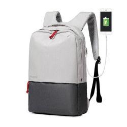 De Rugzakken van de School van de manier voor het Laden van het Ontwerp USB van Mannen en van Vrouwen Nieuwe Laptop Bagage reizen Zakken