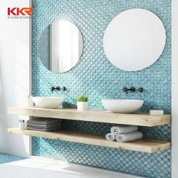 Badezimmer-festes Oberflächenhandwäsche-Bassin-Toiletten-Wäsche-acrylsauerbassin über Gegenwannen