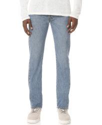 人のための2020本の方法デニムのジーンズのズボンは淡いブルーの洗浄デニムのズボン100%Cottonを卸し売りする