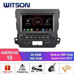Witson Quad-Core Android 10 Car DVD Player (三菱アウトランダー用 2G RAM