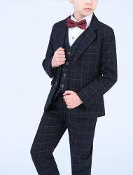 Productos en stock el tejido de alta calidad a bajo precio al por mayor de los niños Tuxedo fabricado en China