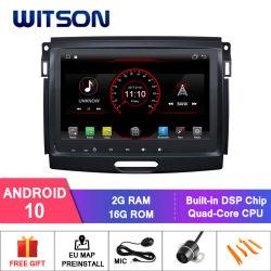 Четырехъядерные процессоры Witson Android 10 DVD-плеер для автомобиля Ford Ranger 2016 наружного зеркала заднего вида Link для Android Mobile+iPhone