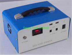 Hot vender 444Wh/666Wh/720Wh/1100wh UPS/ Alimentación de reserva fuera de la red/// de la estación de energía solar portátil Kit Generador Solar con batería de litio