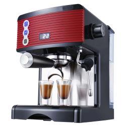 Pumpe Bohnen Tasse Espresso Kaffeemaschine Home Office Electric Kaffeemaschine mit Dampfgarer