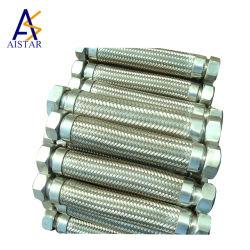 Il tubo flessibile caldo del metallo flessibile di vendita delicatamente flessibile connette i pezzi di ricambio dell'erogatore del combustibile