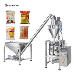 Totalmente automático de llenado de polvo de café/Especias Masala / / / Chile / Leche harina / / jugo sazonador de polvo de embalaje máquinas de envasado