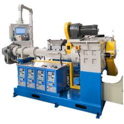 Fabricant professionnel de l'extrudeuse en caoutchouc, 90mm en caoutchouc de l'extrudeuse Cold-Feeding vide continu de l'Extrusion de vulcanisation du caoutchouc de ligne de machine de l'extrudeuse
